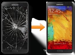 Note3 Ekran Değişimi