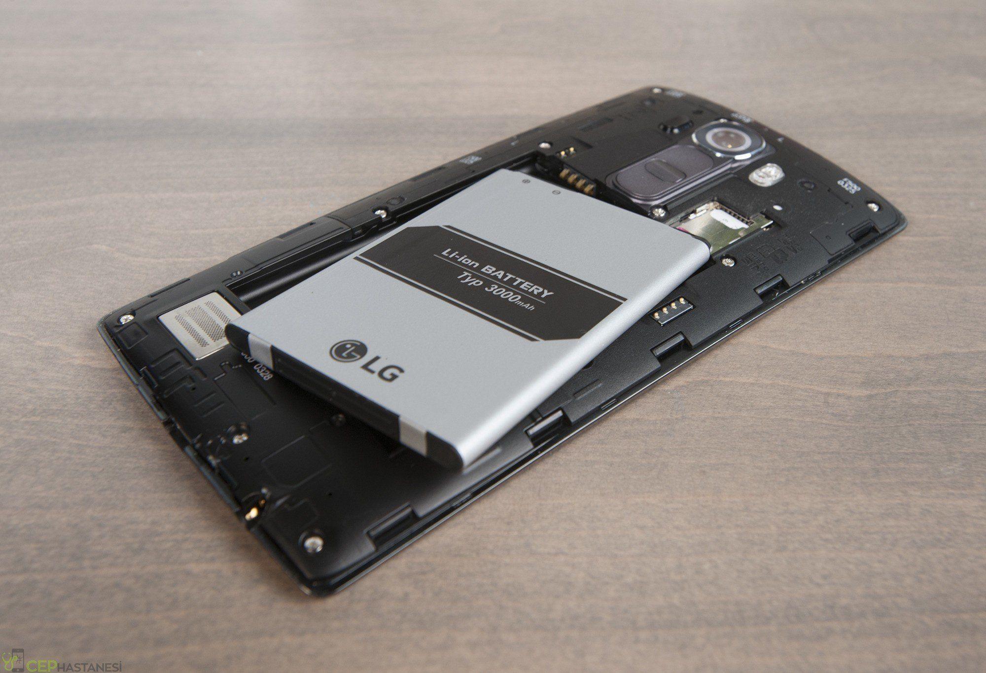 Lg G4 Orjinal Batarya Değişimi