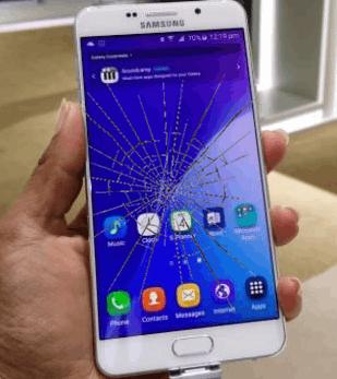 samsung galaxy a8 ekran cam değişimi