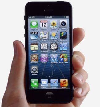iphone 5 ekran cam değişimi