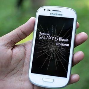 samsung galaxy s3 mini ekran cam değişimi