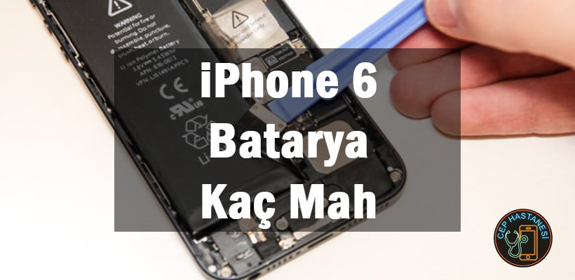 iphone 6 batarya tamiri