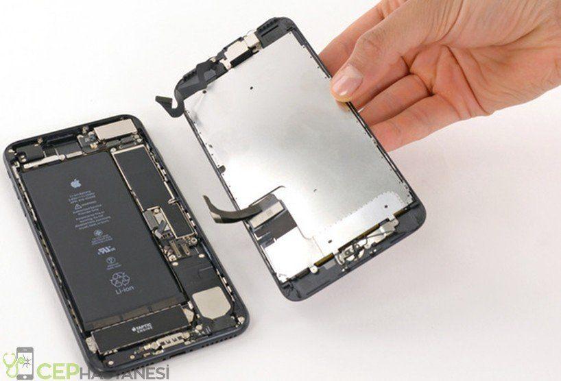iphone 7 Plus ekranı çatladı kırıldı