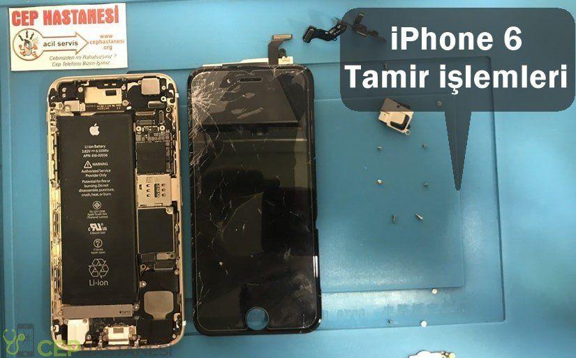 iPhone 6 tamir işlemleri ve fiyatları
