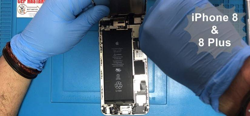 iPhone 8 ve 8 Plus ön cam ve ekran değişimi