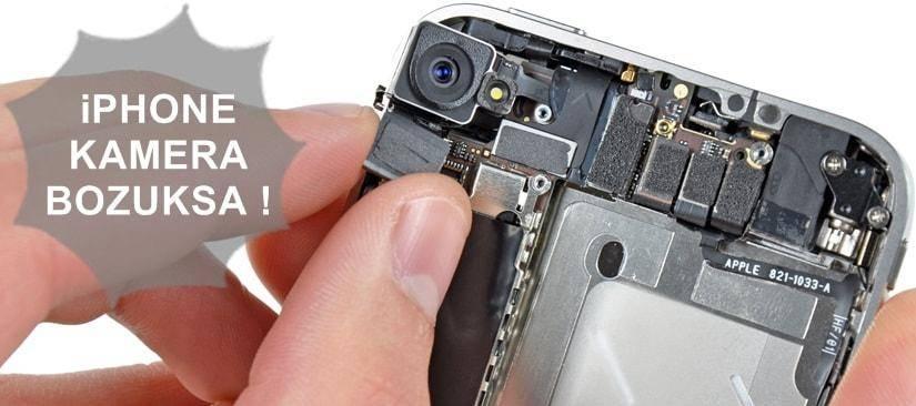 iPhone kamera çalışmıyor sorunu ve çözüm yolları