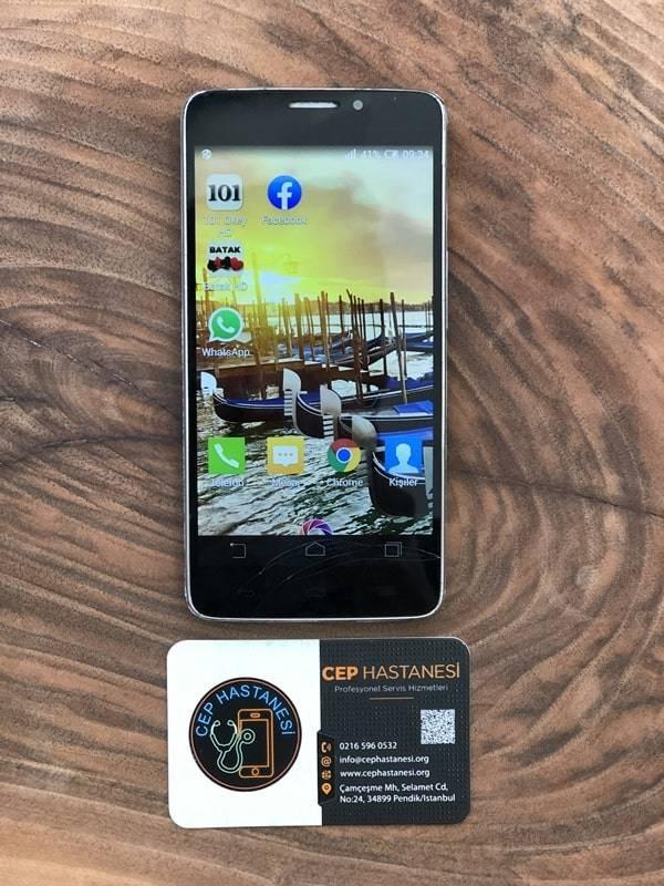 general mobile discovery 2 ekran değişimi