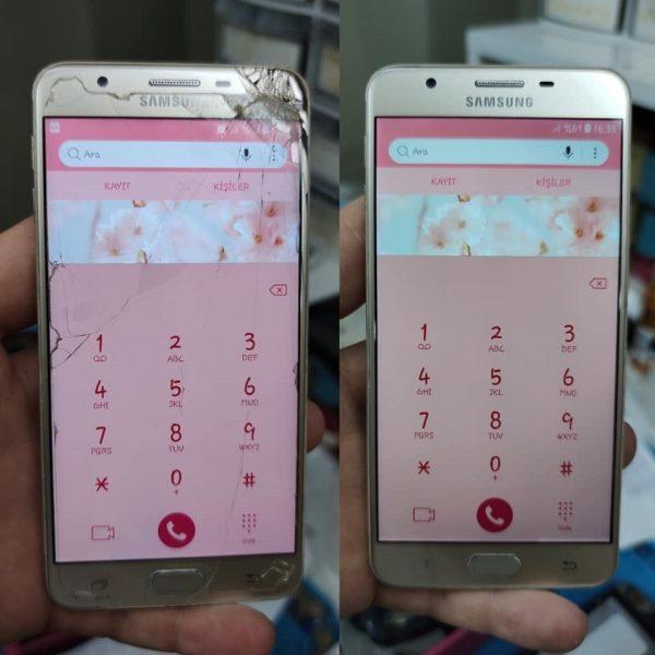 Samsung A3 Ön Cam Değişimi