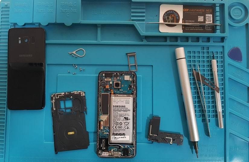 Samsung S8 Ekran Sökme