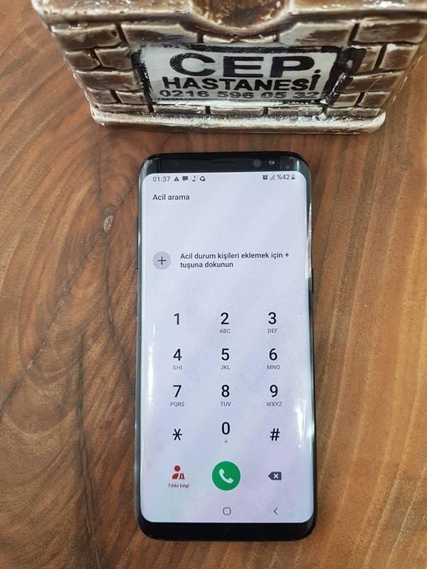 Samsung Galaxy S8 Ekran Değişimi Fiyatı