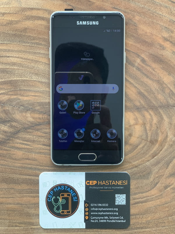 Samsung A3 Ekran Cam