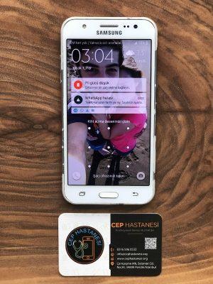 samsung galaxy j5 ekran değişimi
