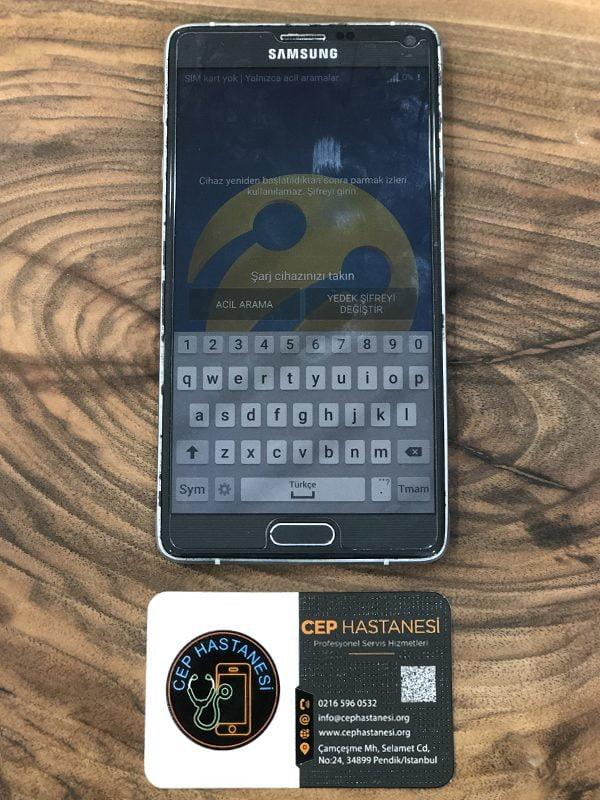 Samsung Galaxy Note 4 Ekran Cam Değişimi Fiyatı