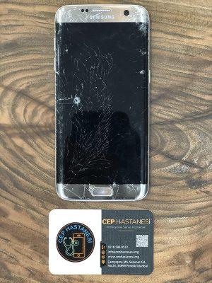 samsung galaxy s7 edge ekranı kırıldı