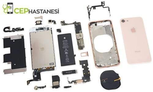 iPhone 8 kasa değişimi sökülmesi