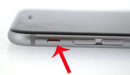 iphone sessiz tuşu sorunu çözümü