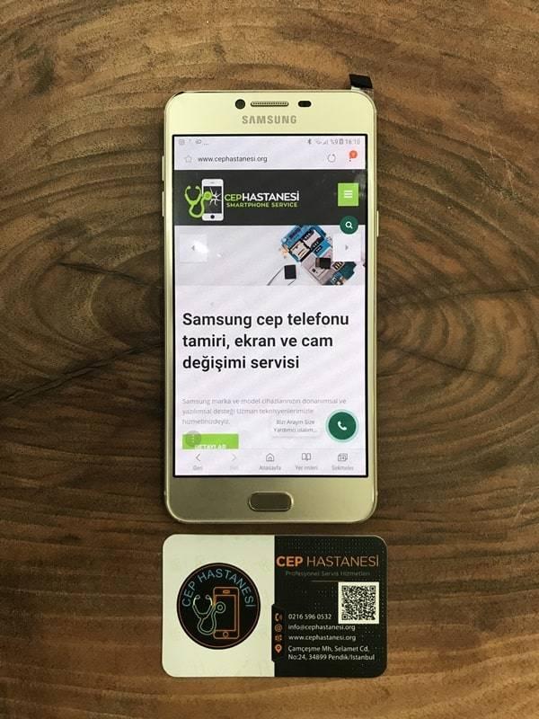 Samsung C7 Ekran Değişimi