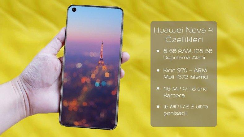 Huawei Nova 4 Özellikleri