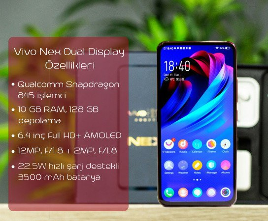 Vivo Nex Dual Display Edition Özellikleri