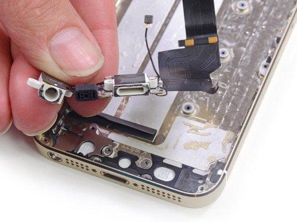 iPhone kulaklık yeri değişimi