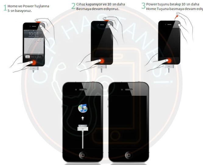 iphone dfu modu