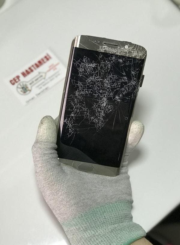 Samsung Galaxy S6 Edge Ekran Cam Değişimi