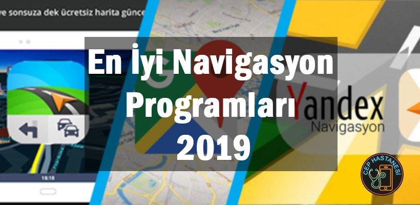 En İyi Navigasyon Programları 2019