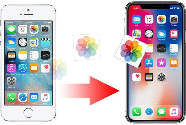 iphoneden iphoneye fotoğraf aktarma