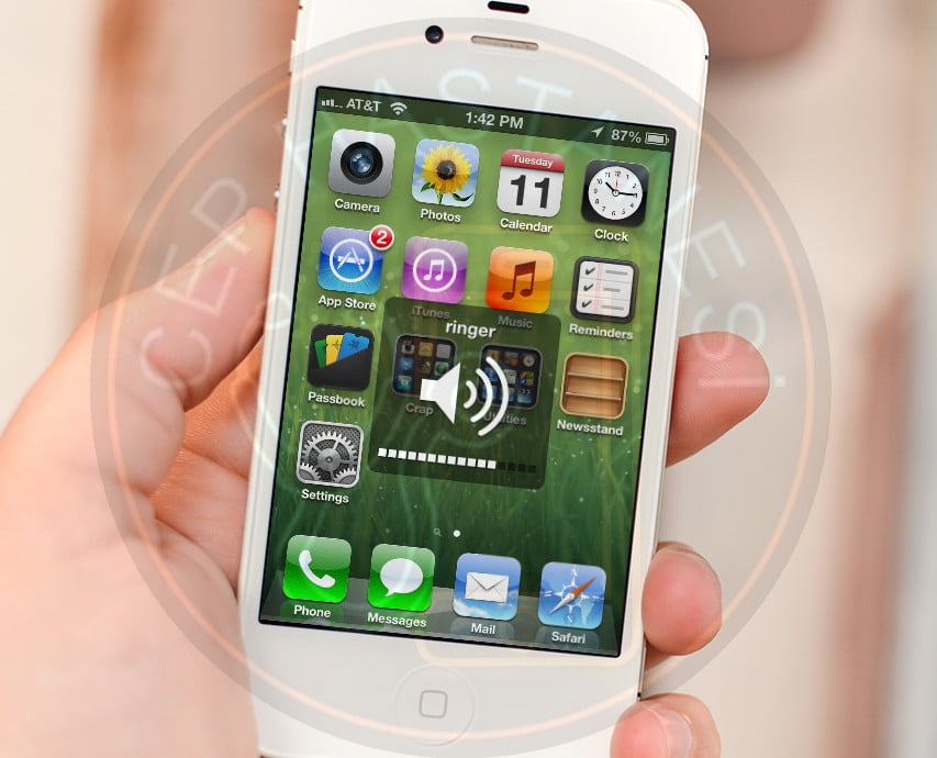 iphone ses açma