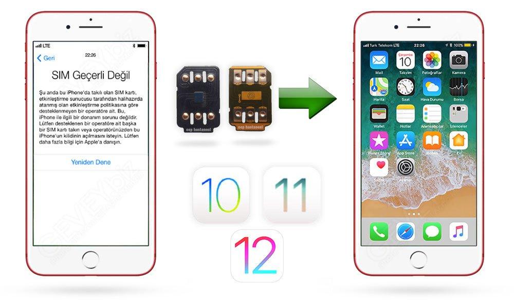 Sim Hatası iPhone