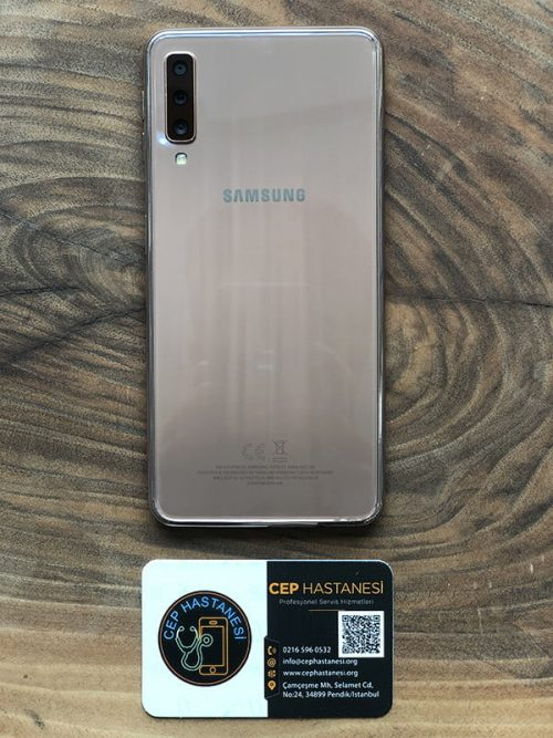 Samsung A7 Arka Cam