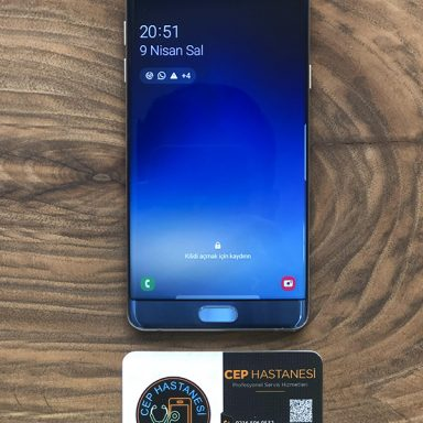 Samsung Galaxy Note Fan Edition Ekran Değişimi