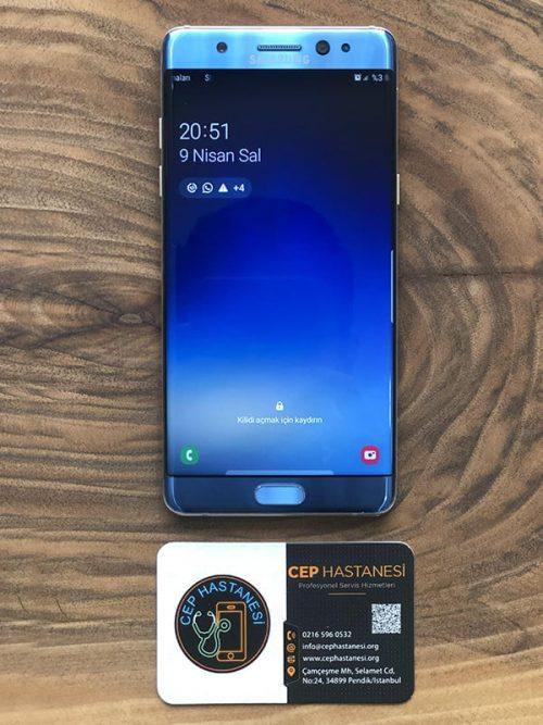 Samsung Note Fan Edition Ekran Değişimi