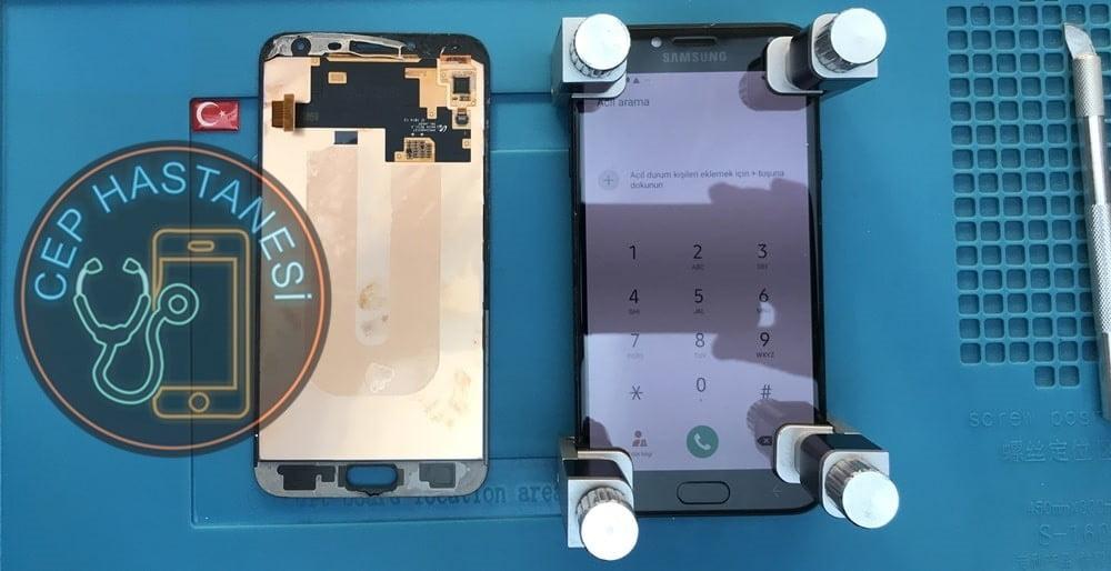 Samsung Galaxy J4 Ekran Sökme