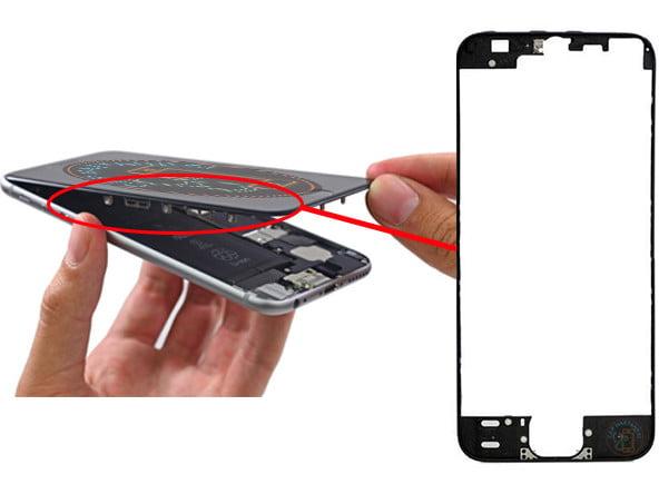 iPhone ekran çıtası