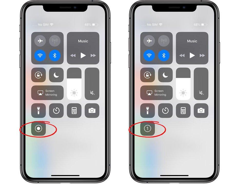 iphone ekran kaydı nasıl alınır