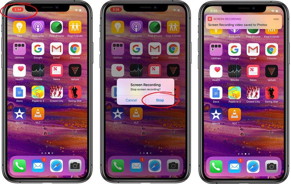 iphone ekran kaydı görüntüsü nasıl çekilir
