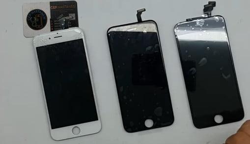 iphone ekran orijinalmi yan sanayimi ?