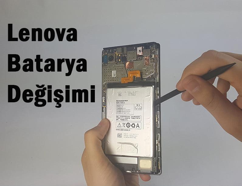 lenovo pil değişimi nasıl yapılır