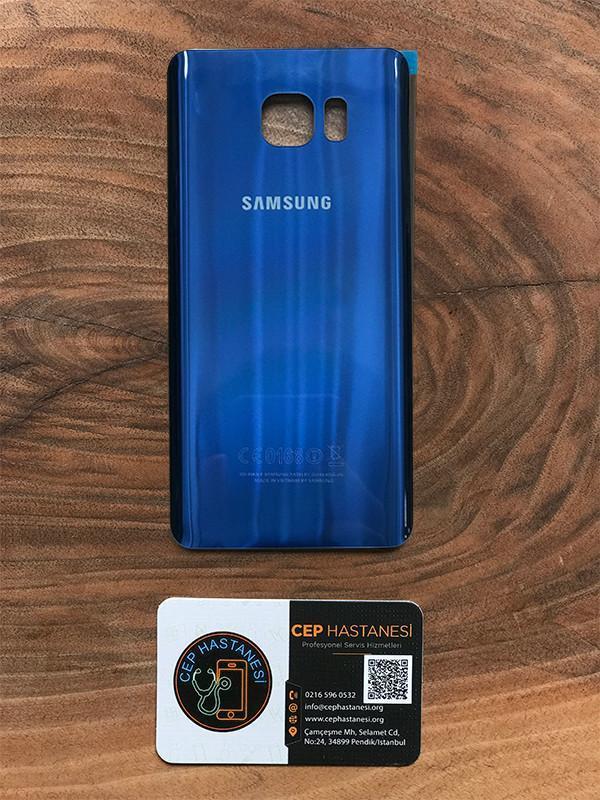 Samsung Note 5 Arka Cam Değişimi Mavi
