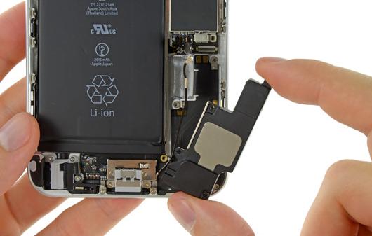 iPhone hoparlor değişimi