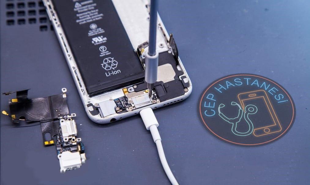 iphone şarj soketi tamiri nasıl yapılır