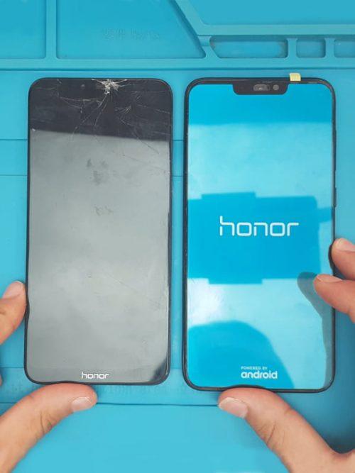 honor 8 ekran değişimi