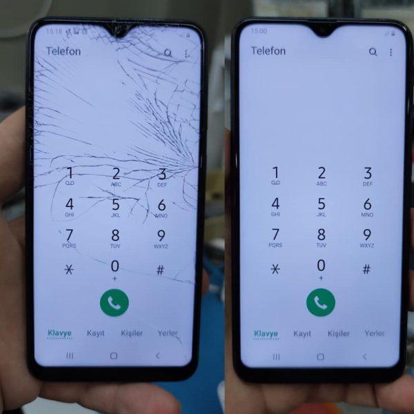 Samsung A30 Ön Cam Değişimi