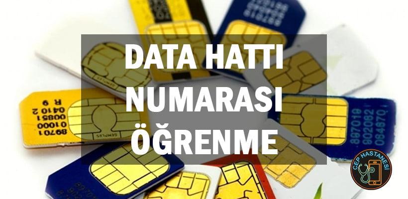 Data Hattı Numarası Öğrenme