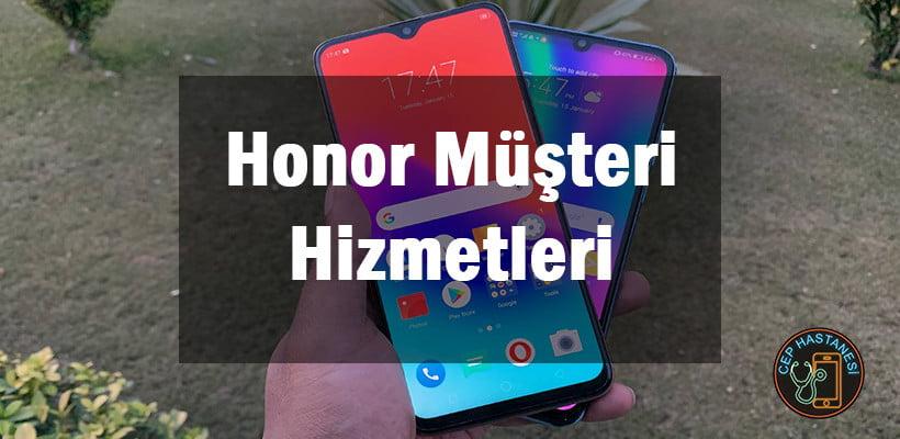 Honor Müşteri Hizmetleri Ve İletişim