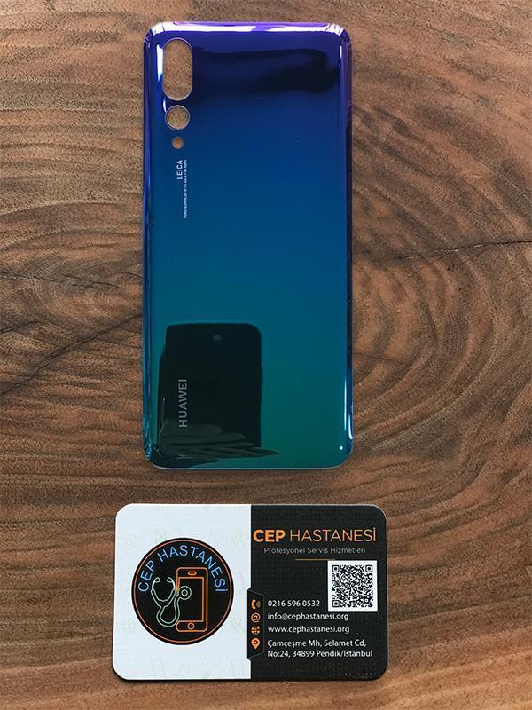 Huawei P20 Pro Arka Cam Değişimi mavi yeşil