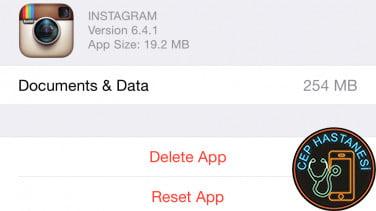 iPhone Depolama Sorunu