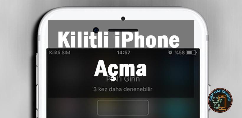 Kilitli iPhone Açma