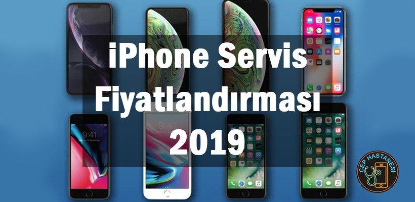 iPhone Servis Fiyatlandırması 2019